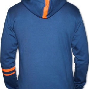 DINATO Hoodie Blue Orange Back